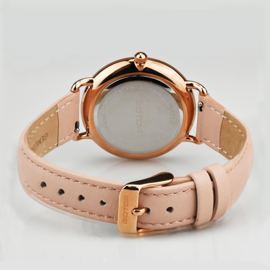 Leather Belt Watch For Ladies