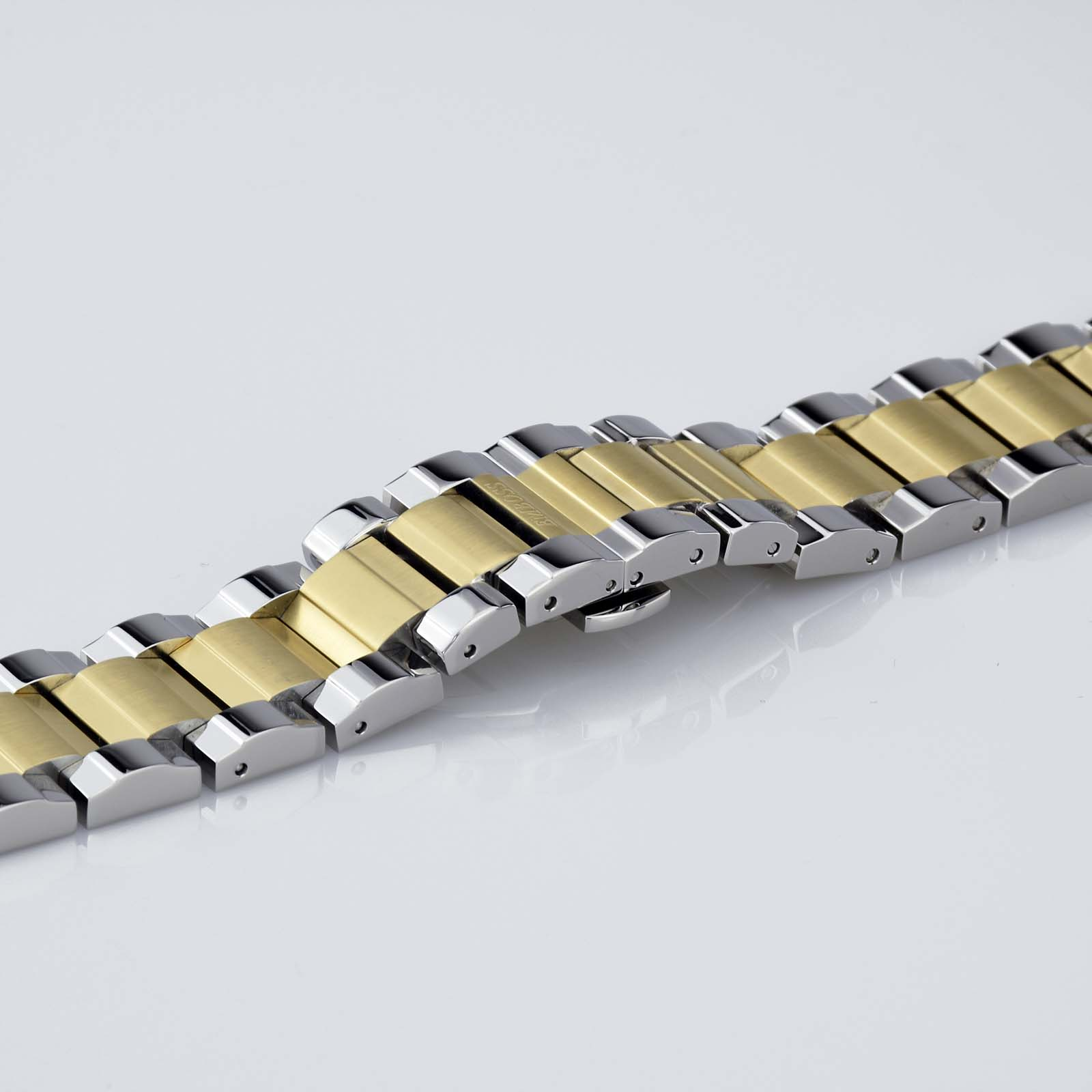 22mm Stainless Steel Watch Band
