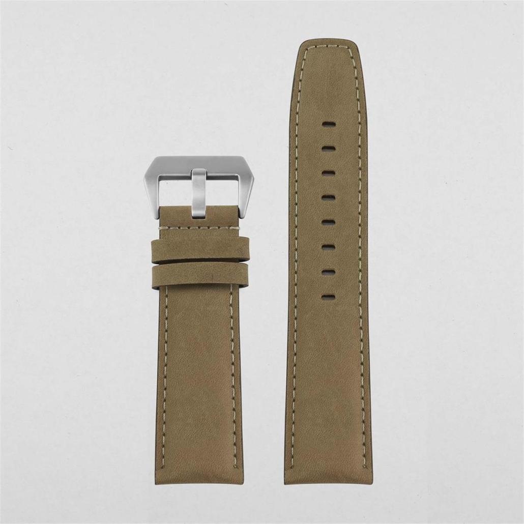 WL004 24mm Leather Watch Strap