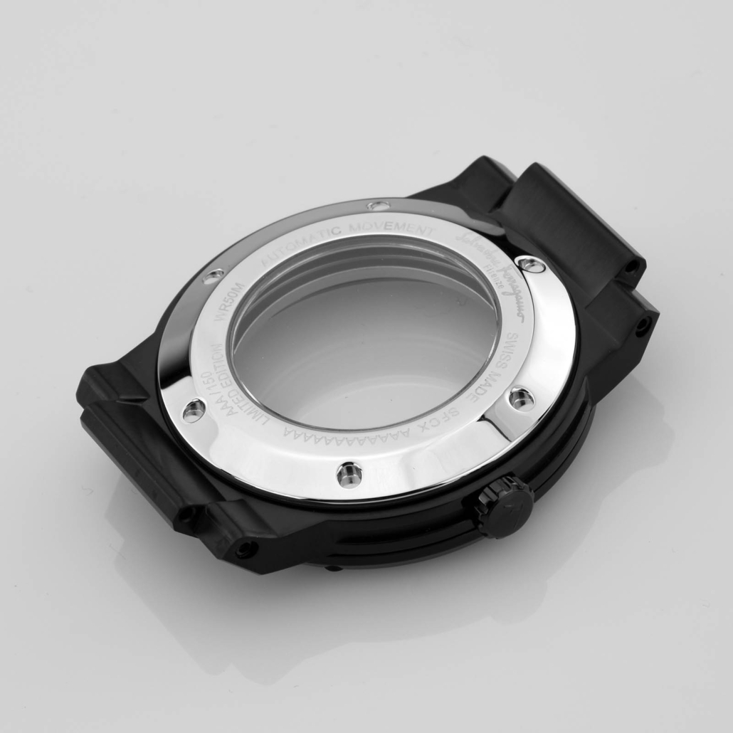 WC004 Black Luxury Watch Case