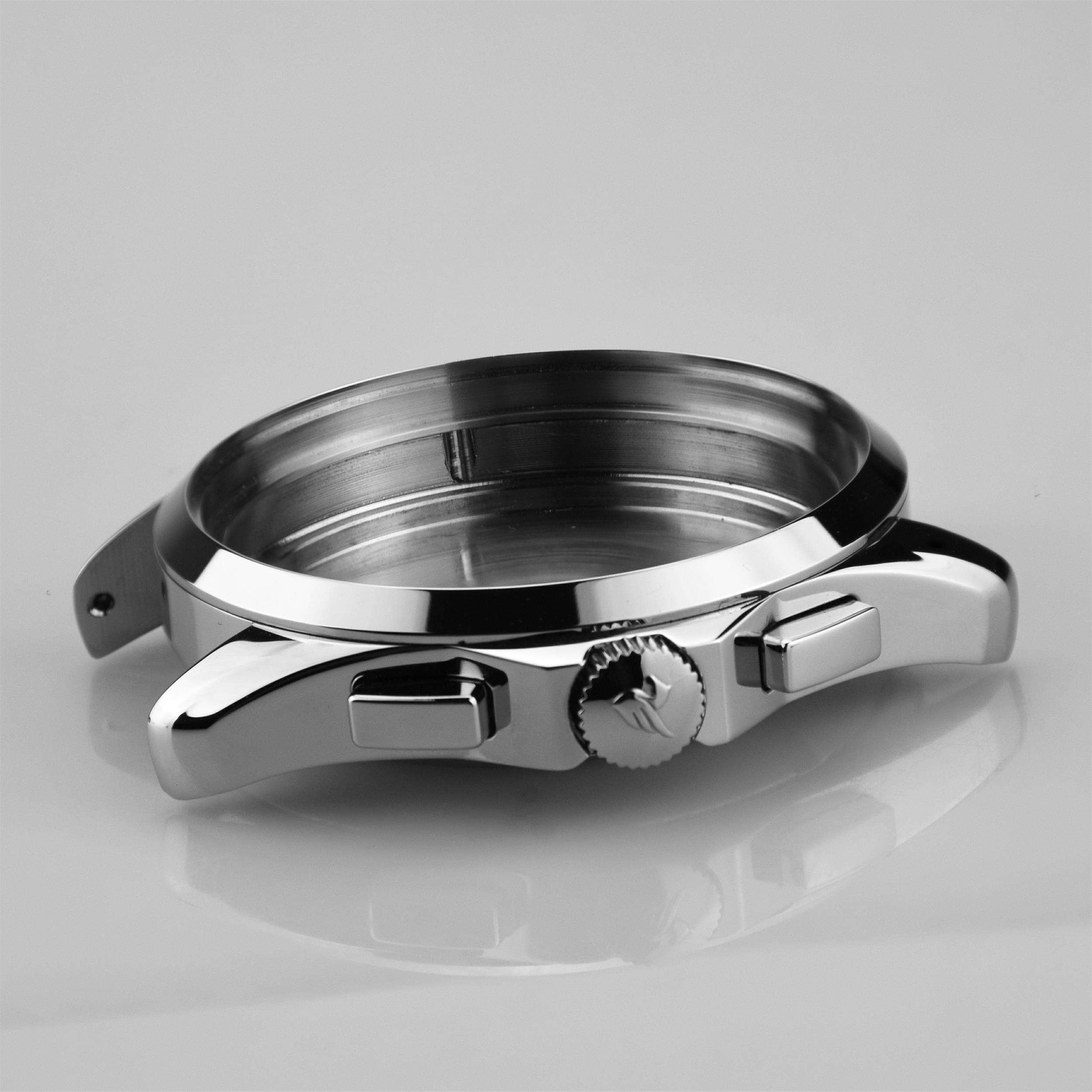 Silver Watch Case