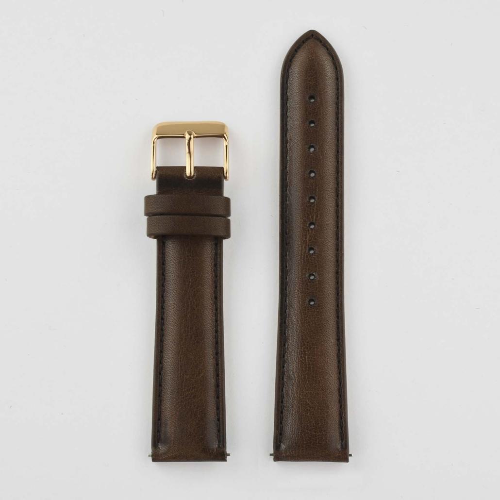 WL002 Soft Leather Watch Strap