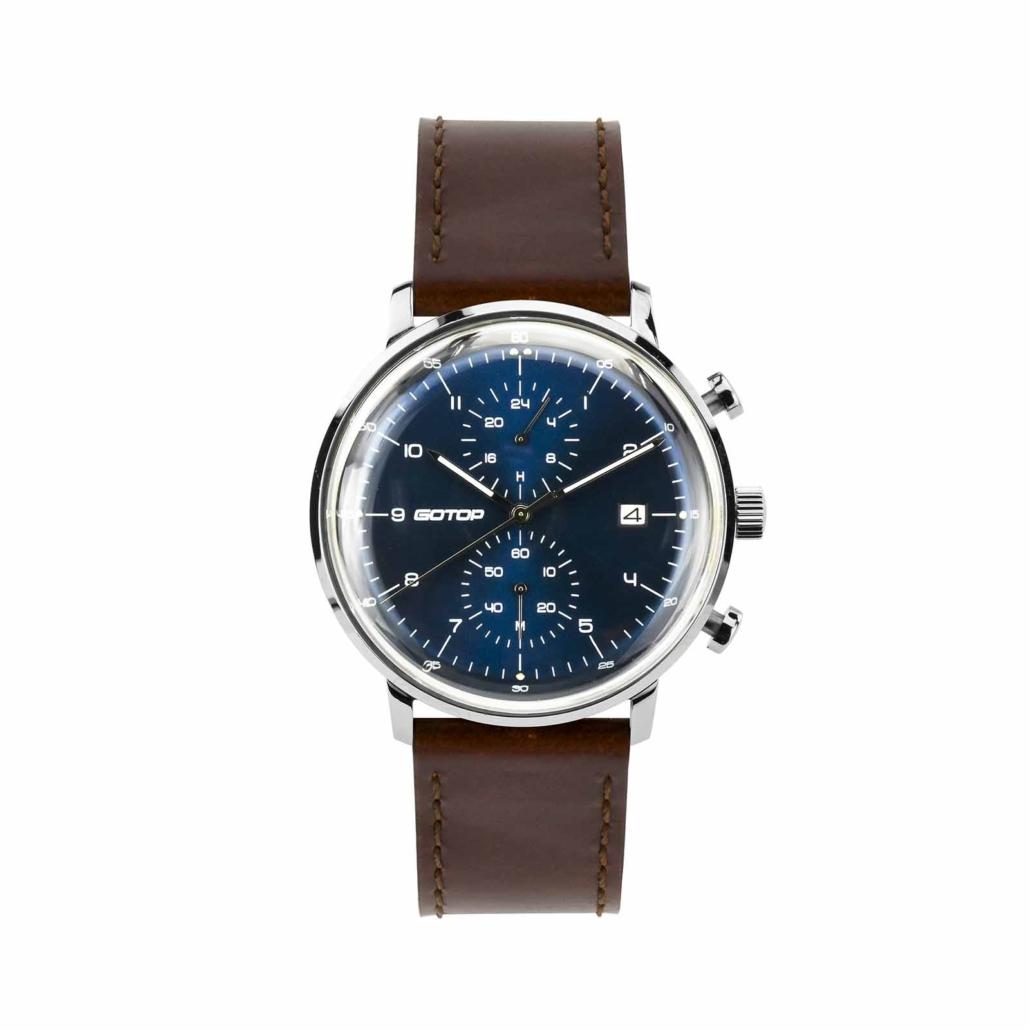 SS326 Men's Blue Dial Chronograph Watch