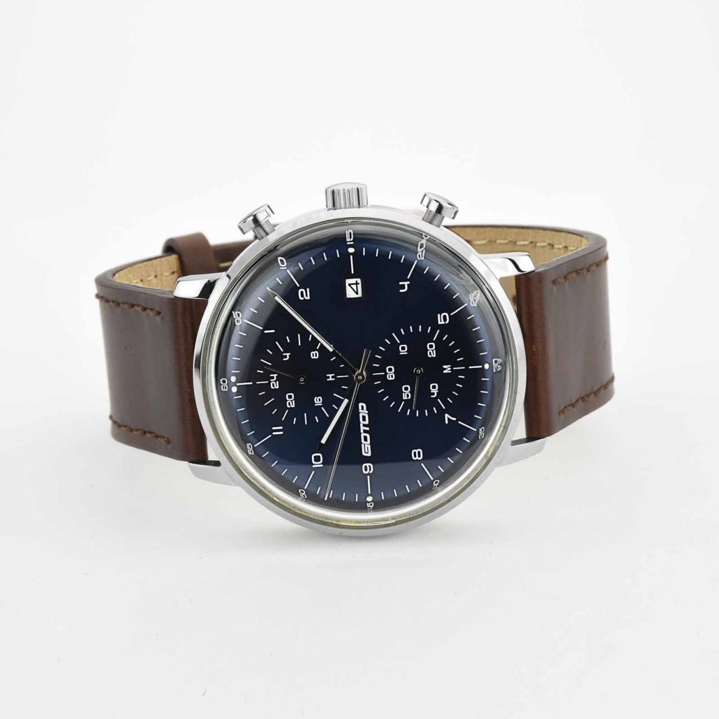 SS326 Men's Blue Dial Chronograph Watch