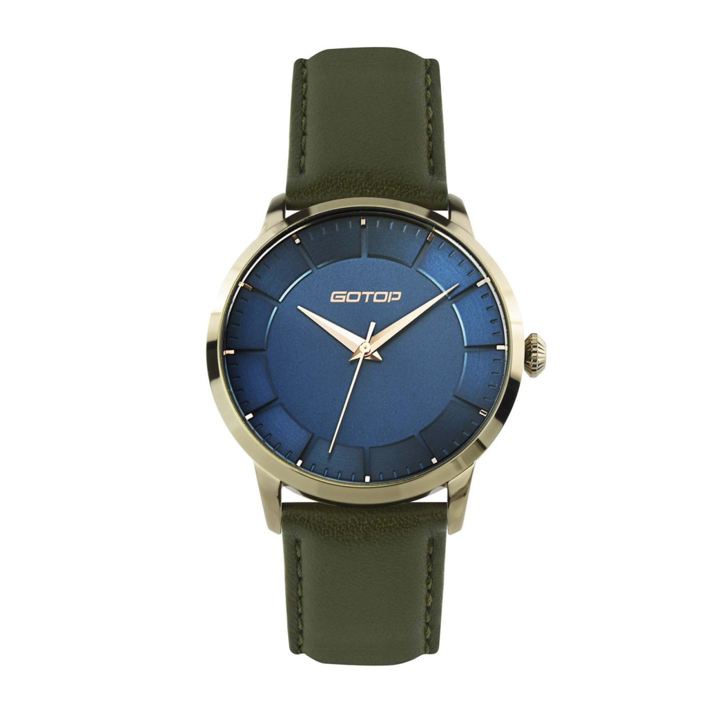 SS645 Women's Double Layer Dial Watch For Business Occasion
