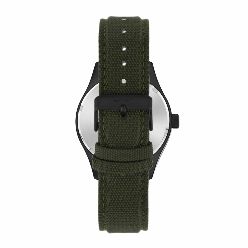 SS351 Green Canvas Watch For Men