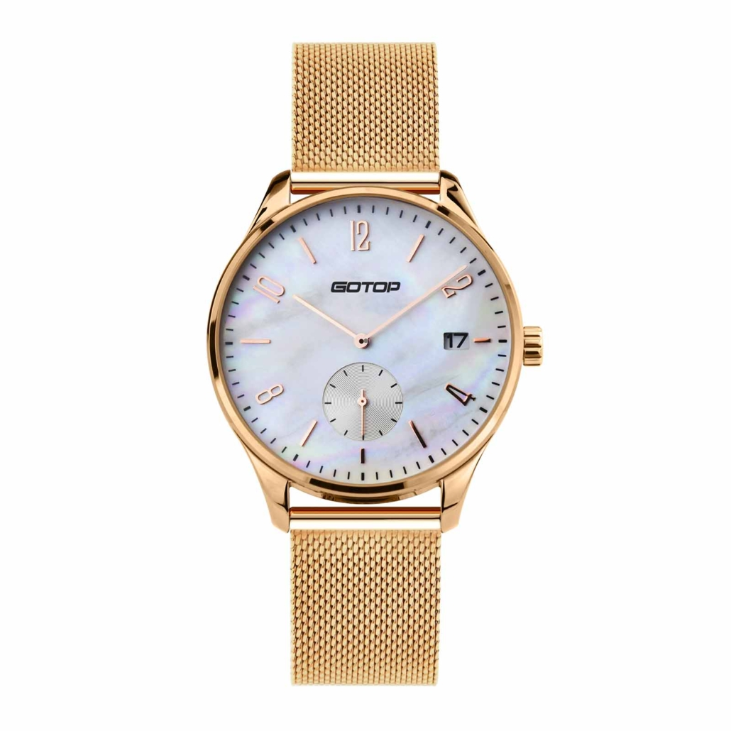 SS312-01 Mens Rose Gold Quartz Watch