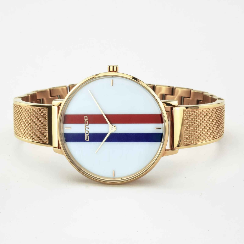 Rose Gold And Stainless Steel Ladies Watches