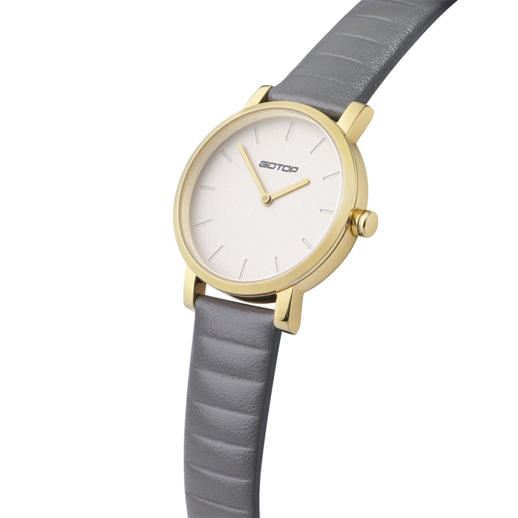 SS393 Womens Leather Strap Watches