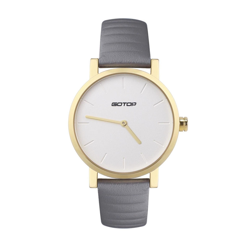 Watch For Ladies With Leather Strap