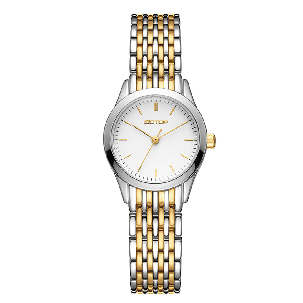 AW420 Two Tone Gold And Silver Stainless Steel Women's Watch
