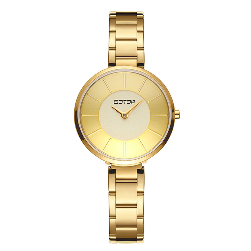 AW492 Silver And Gold Stainless Steel Ladies' Watch