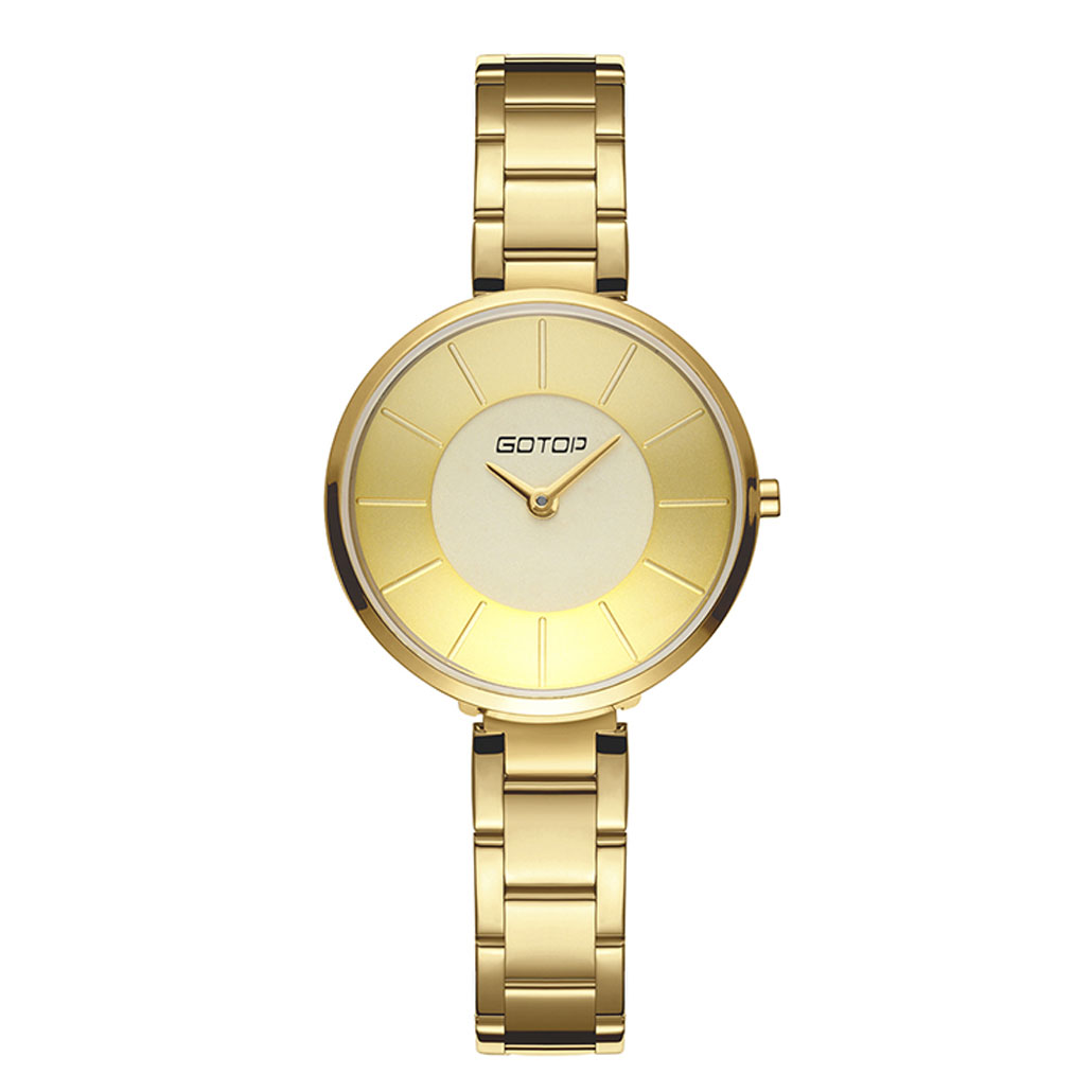 AW492 Silver And Gold Watch Womens