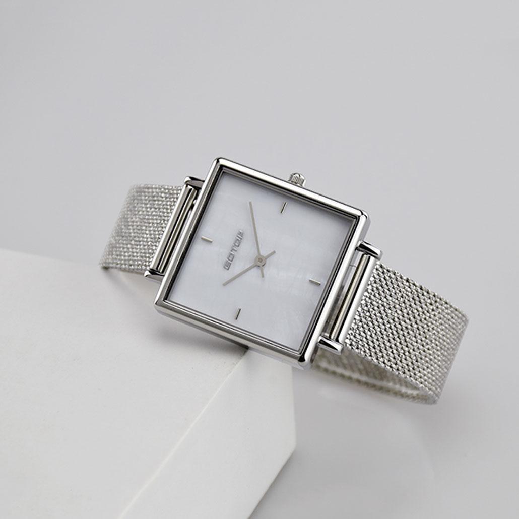 Black Square Dial Ladies Watches