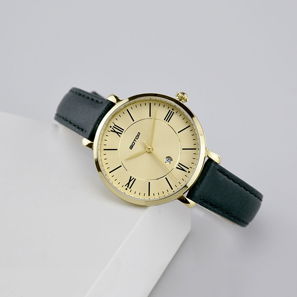 SS350-01 Gold And Green Women's Watch