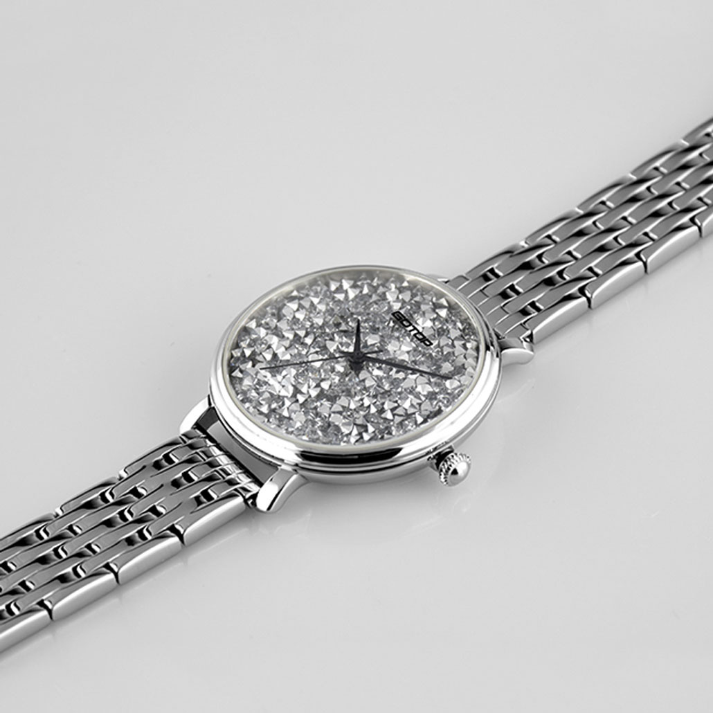SS357 Womens Designer Watches Rose Gold