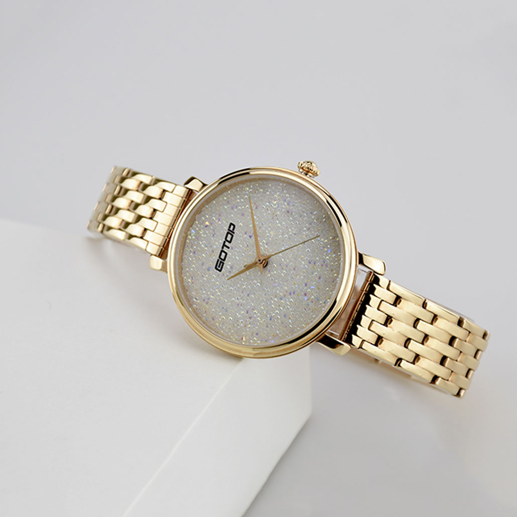 SS357 Female Watches Rose Gold