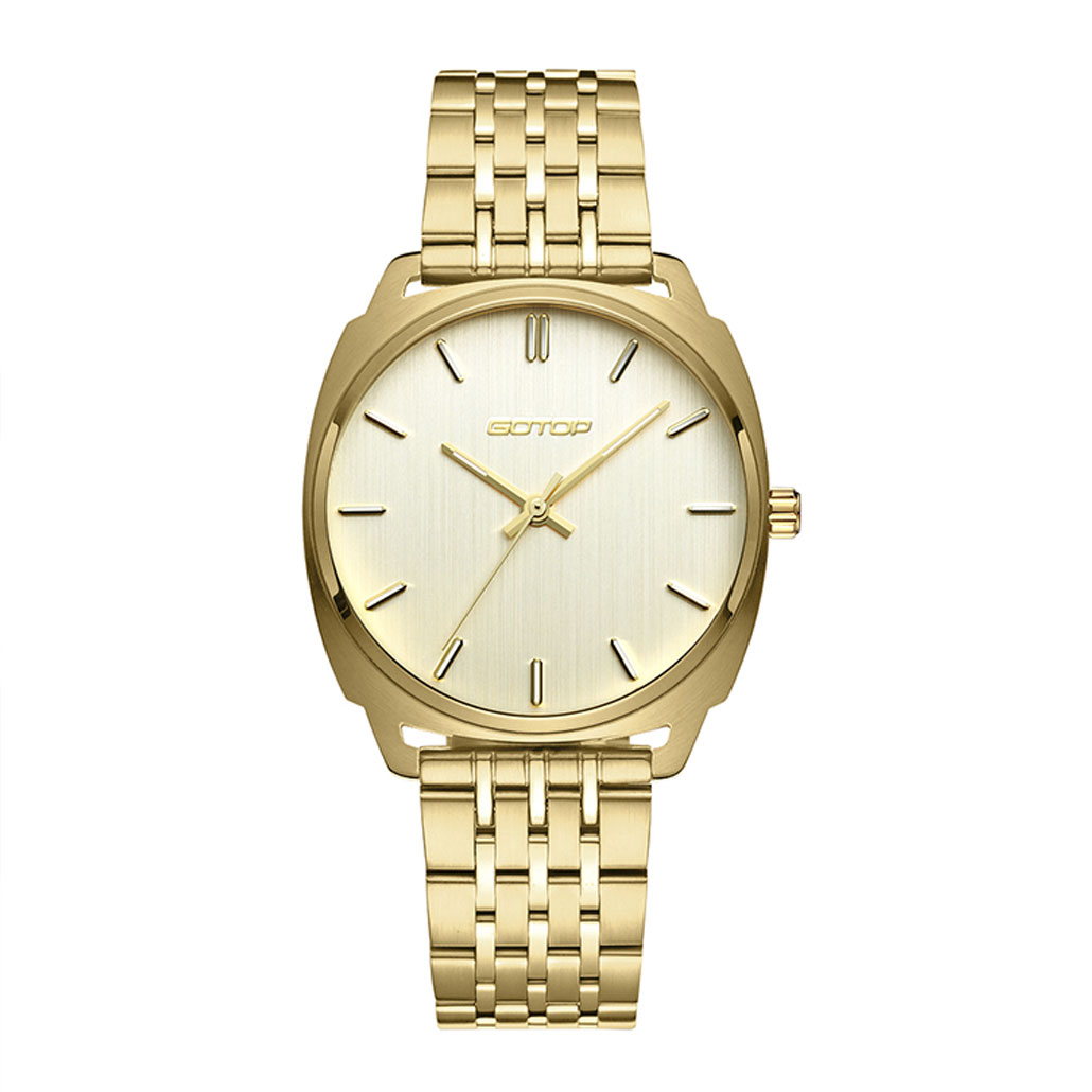 SS650 Expensive And Luxury Stainless Steel Gold Finished Women's Watch