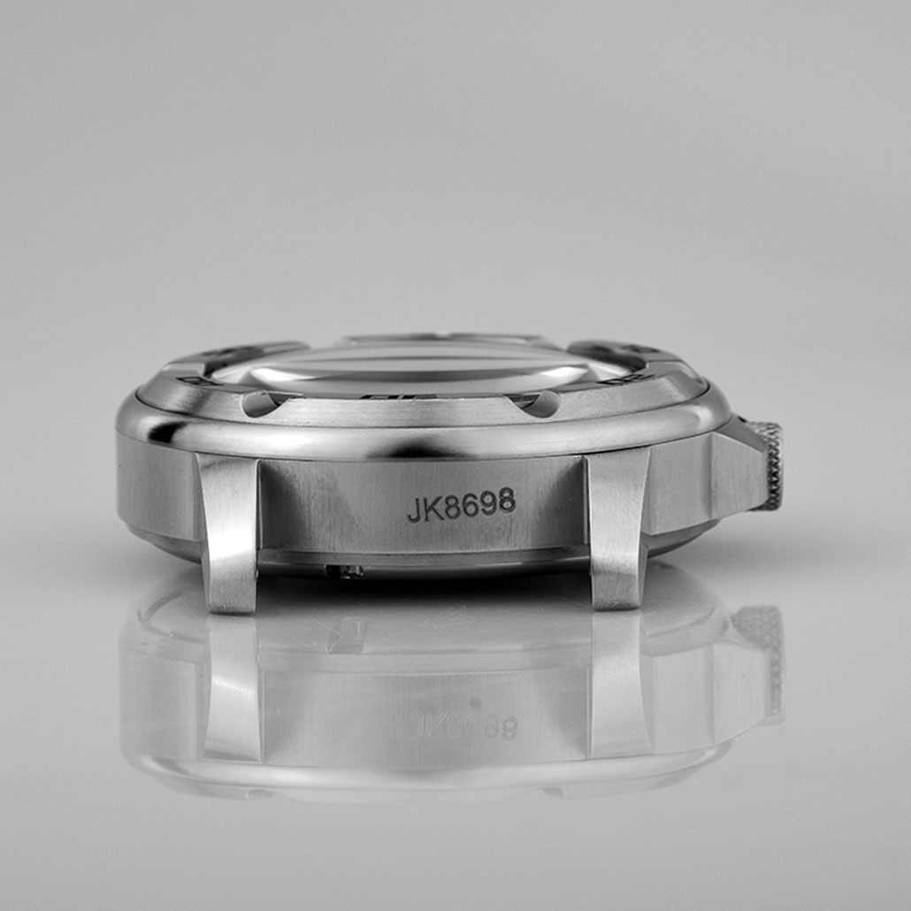 WC005 Stainless-steel Round Men's Watch Case