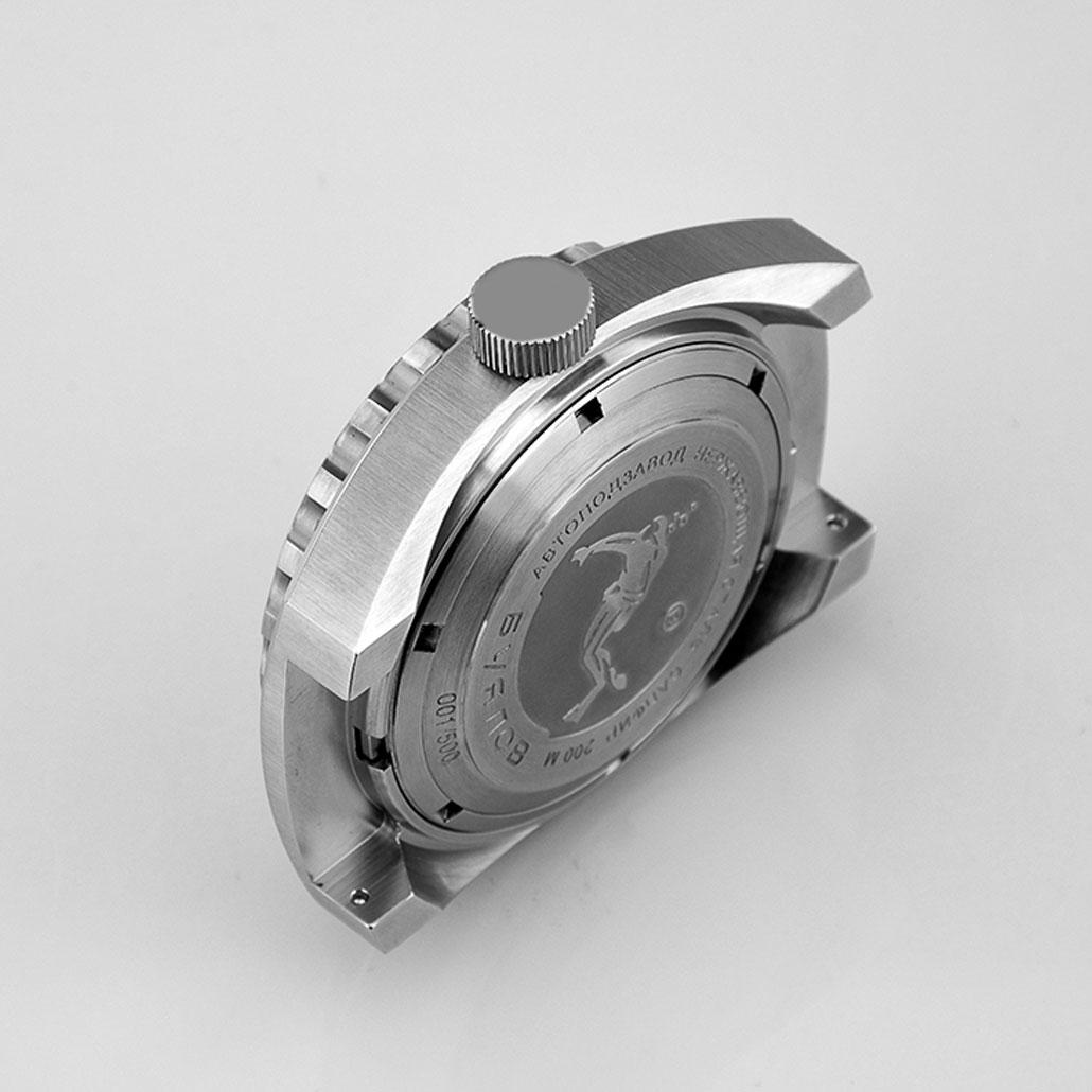WC030 Bold Modern Metal Watch Case