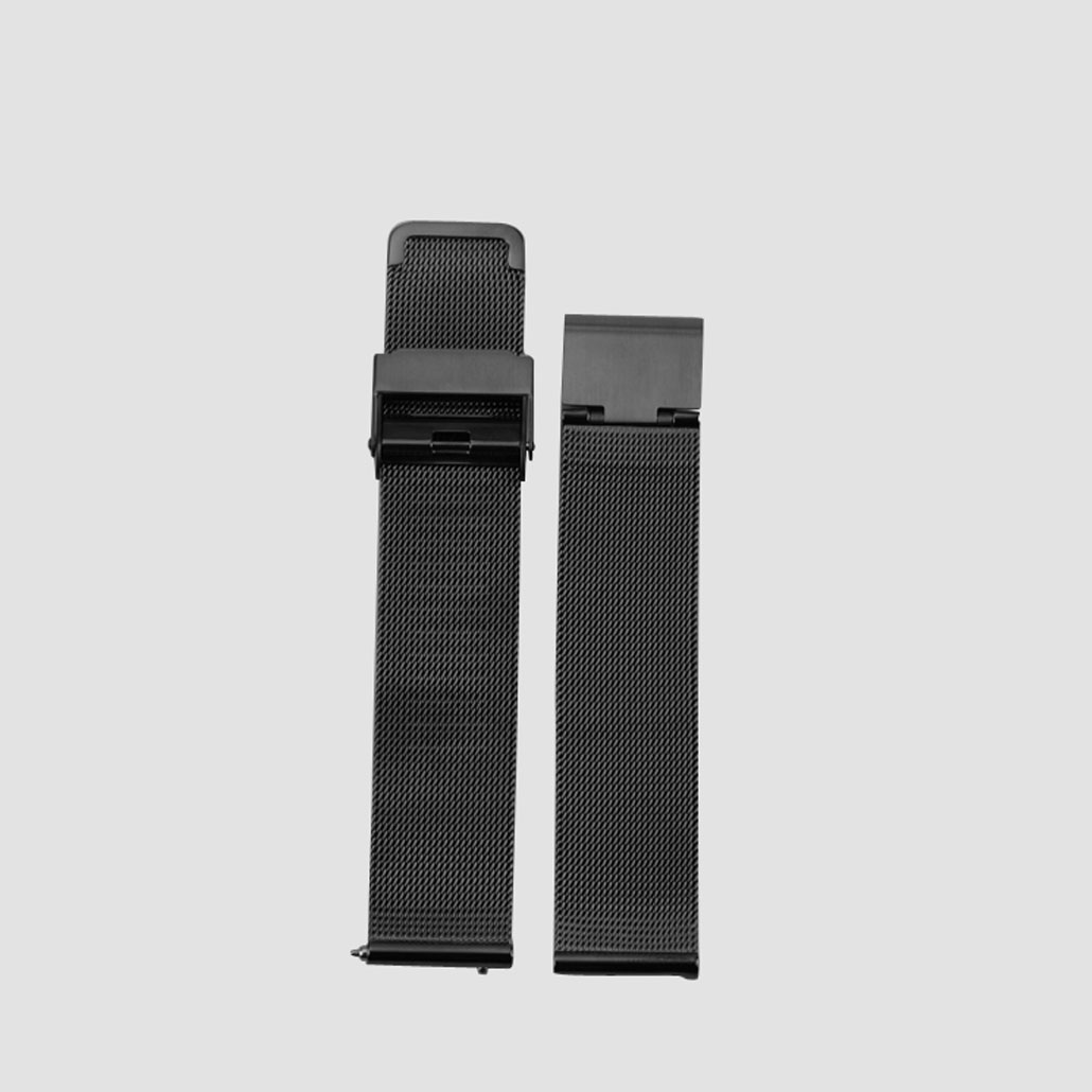 Black Stainless Steel Watch Bracelet