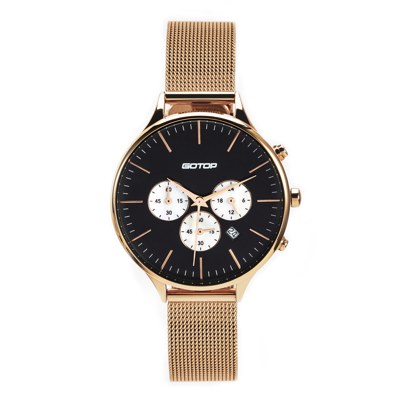 SS356-02 CHRONOGRAPH FUNCTION & CHARMING DESIGN LADIES WATCH