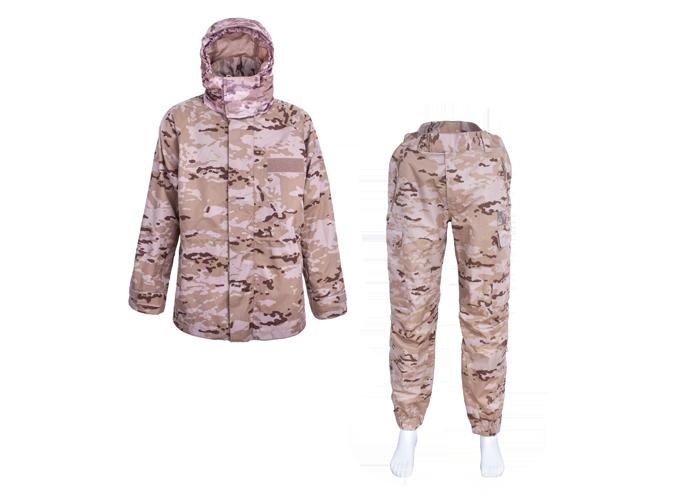 Desert Storm Army Uniform with a Detachable Hood