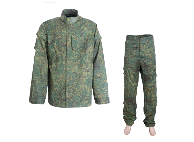 Woodland Camo Uniform for Russian Army Forces