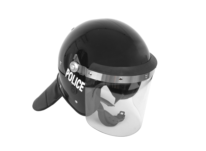 Police Helmet With Face Shield