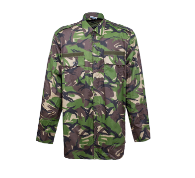 BDU Combat Shirt Woodland Camouflage for Army