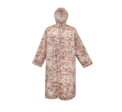 Camouflage  Military Poncho