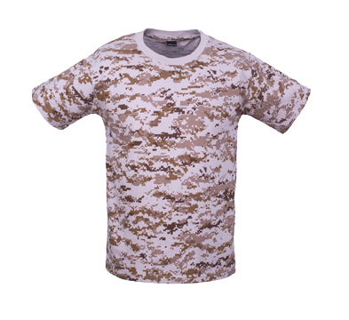 Digital Camo Shirt Polo Short Sleeve