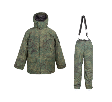 Army Winter Uniform for Russian Military Soldier