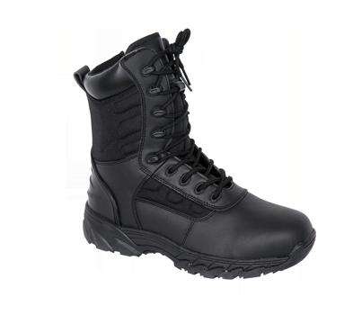 Side Zip Combat Boots