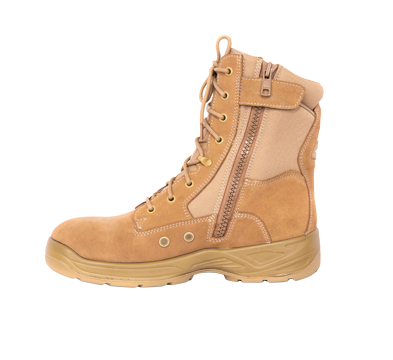 Suede Military Boots
