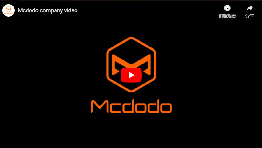 Mcdodo Company Video